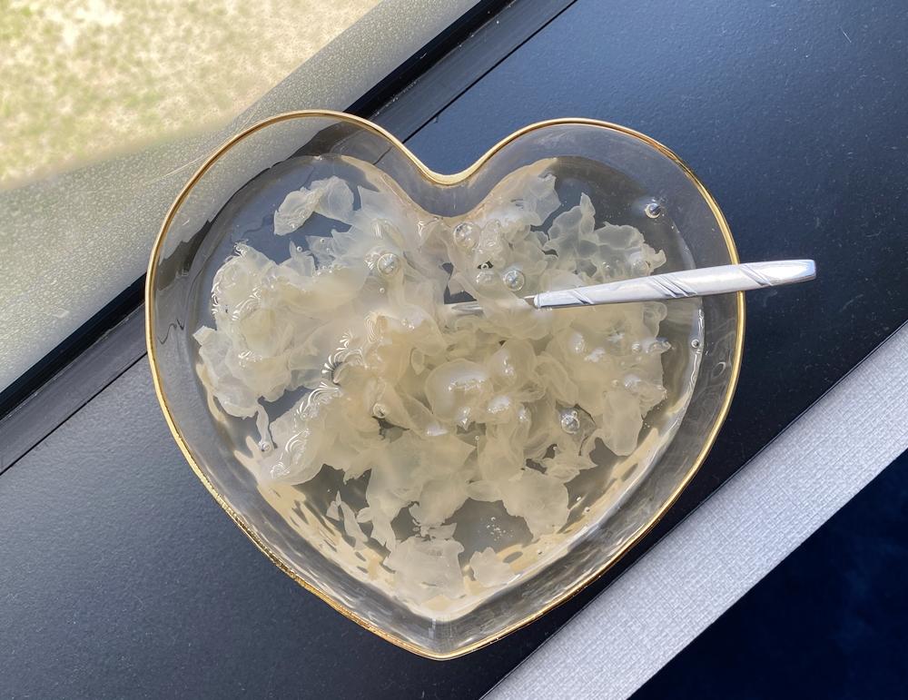 淘寶金邊愛心玻璃碗