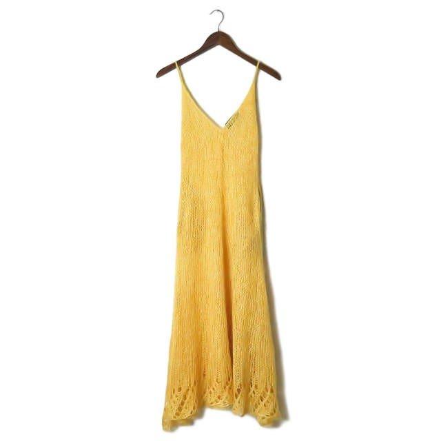 月薪嬌妻SP新春特別篇 新垣結衣孕婦裝穿搭 UNUSED黃色毛海吊帶裙 日劇穿搭孕婦穿搭