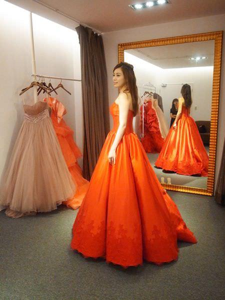 【挑禮服囉~】台北士林-de novia-5件禮服分享