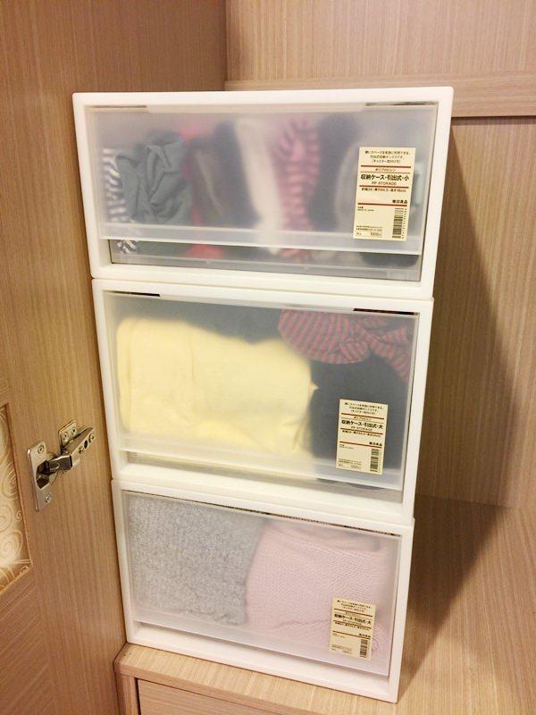 【MUJI 無印良品】PP盒-賞心悅目又整潔的衣物收納箱