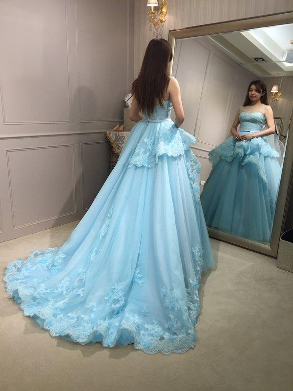 樂許Le Chic Bridal 手工婚紗 婚紗試穿 命定婚紗 Luminous Haute Couture 高級訂製 (121)