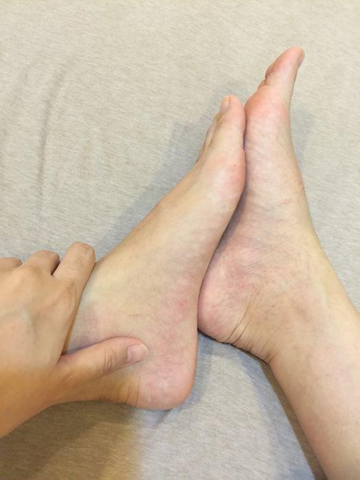 孕婦腳水腫-消水腫方法-NUK清涼腿足按摩凝膠-日本美腿襪-海洋護膚系列-身體護理按摩凝膠 (62)