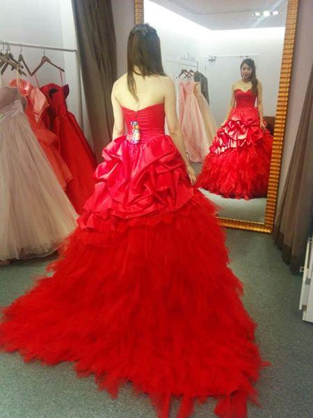 wedding準新娘挑禮服-挑婚紗-De Novia台北士林劍潭站 (24)