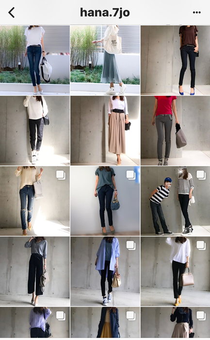我追蹤的日本主婦IG穿搭-Uniqlo GU 每日穿搭 Instagram Instagramer(38)