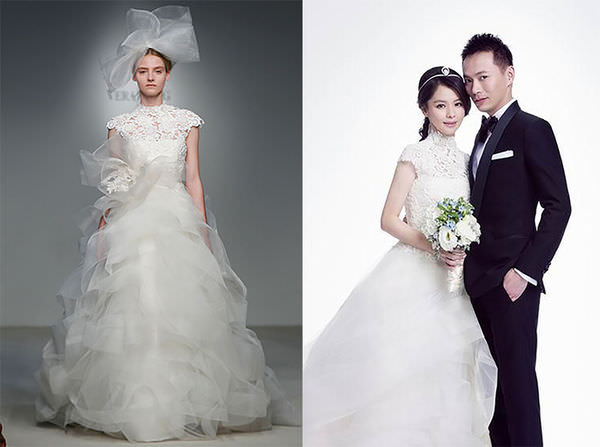 vera wang-bellavita貴婦百貨2F-婚紗試穿-徐若瑄婚紗 (26)