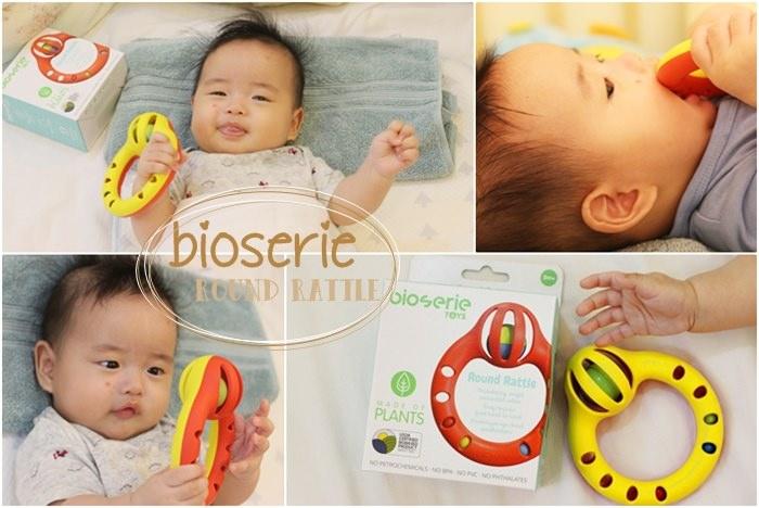 【育兒】4M旺財寶寶的玩具:bioserie小小鈴鼓手搖鈴