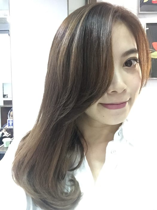 PLUUS 南西店-設計師NICK-媽媽的簡單清爽內彎直髮-外捲瀏海 (29)